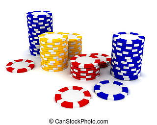 Casino Roulette\'s chips