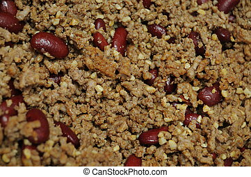 Ground Beef and Kidney Beans - Ground beef hamburger meat...