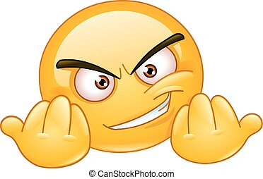 Invitation to fight emoticon - Emoticon inviting to fight....