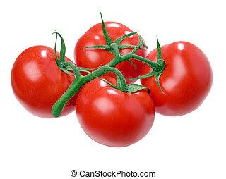Tomato. - Tomato isolated on white background.