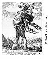 1600 - Guard of Rudolf II of Habsburg, Holy Roman Emperor -...