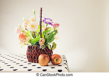 beautiful bunch of flowers - Still life with a beautiful...