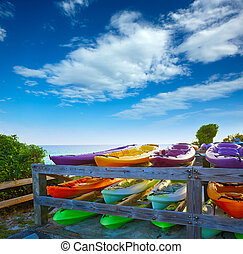 Florida Keys kayaks Bahia Honda Park US - Florida Keys...