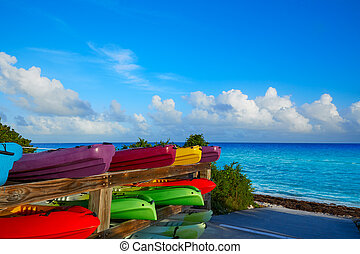 Florida Keys kayaks Bahia Honda Park US - Florida Keys...