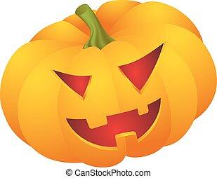 halloween pumpkin face - Cute Halloween pumpkin decoration...