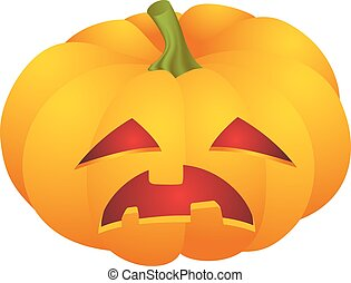 halloween pumpkin face - Cute Halloween pumpkin decoration...
