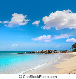 Key West beach fort Zachary Taylor Park Florida - Key West...