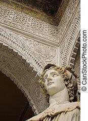 Main patio of Casa de Pilatos - Casa de Pilatos is one of...