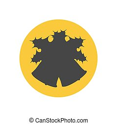 Bell silhouette icon