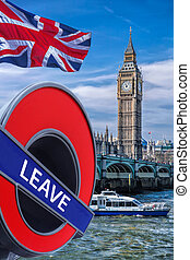 Britain votes to LEAVE European Union,Big Ben with cruise...