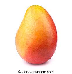 Mango fruit isolated on white - Mango isolated on white...