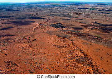 Australian Outback - Bright and Sunny Day in the Australian...