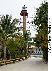 Florida Sanibel island lighthouse US - Florida Sanibel...