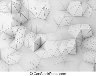 3d background - abstract 3d illustration of relief...
