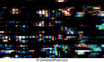Glitch random digital signal error 10912 - Glitch random...