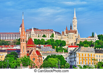 Church of St Matthias, Fishermans Bastion,Calvinist Church...
