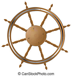 steering wheel - Classic helm steering wheel