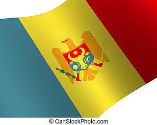 Moldova - National Flag. Moldova