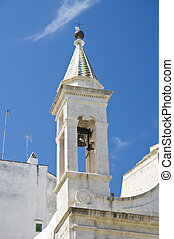 St. Stefano Church. Molfetta. Apulia.