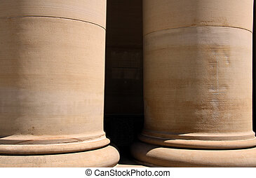 Large pillars