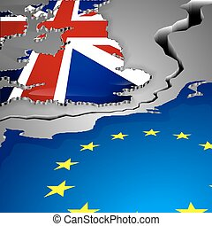 The cut as big gap between Great Britain and European union...