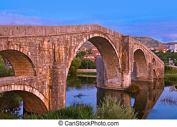 Old bridge in Trebinje - Bosnia and Herzegovina -...