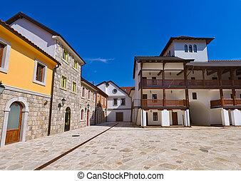 Andricgrad or Kamengrad in Visegrad - Bosnia and Herzegovina...