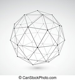 Abstract Geometric Element - Three-dimensional polygonal...