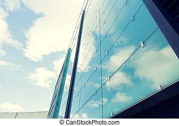 modern office building facade - architecture and...