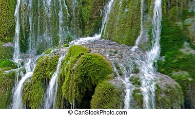 Waterfall Bigar, Romania 2 - Waterfall Bigar in summer...