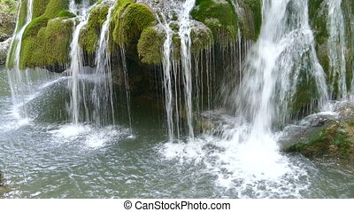 Waterfall Bigar, Romania 4 - Waterfall Bigar in summer...