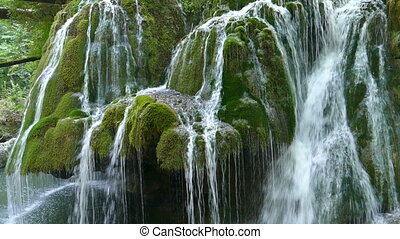 Waterfall Bigar, Romania 1 - Waterfall Bigar in summer...