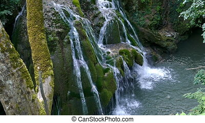 Waterfall Bigar, Romania 7 - Waterfall Bigar in summer...