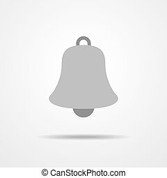 Bell icon - vector illustration - Simple bell icon - vector...