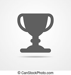 Cup icon - vector illustration.