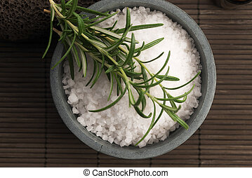 sea salt with rosemary