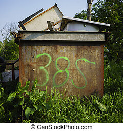 Number 385 - house number three hundred and eighty five,...