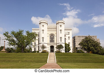 Old State Capitol in Baton Rouge, Louisiana - The Old State...