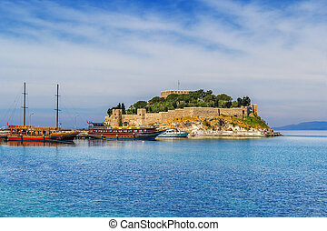 Kusadasi, Turkey - beautiful sunny days in Kusadasi Turkey