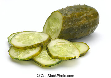 Cucumber salty Studio isolated