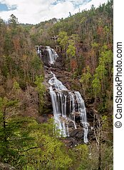 Whitewater Falls, North Carolina, USA