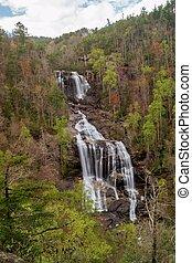 Whitewater Falls, North Carolina, USA
