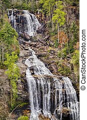 Cascading Whitewater Falls - Whitewater Falls, North...
