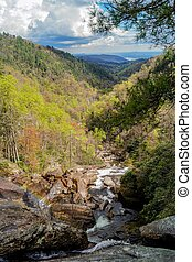 Jocassee Gorge - Whitewater Falls, North Carolina, USA