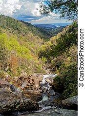 Jocassee Gorge - Whitewater Falls, North Carolina, USA