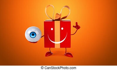 Fun gift - Digital animation