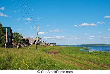 Lake Kenozero Arkhangelsk region, Russia