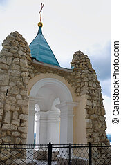 Andreevsky chapel - The Andreevsky chapel of the Sviatohirsk...