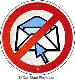 no spam e-mail