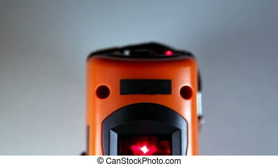 The laser measurement level for construction works ,